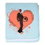 Valentine Wanted (Male) Infant Blanket