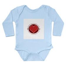 Valentine's Day No. 1 Onesie Romper Suit