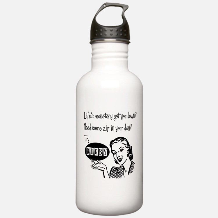 Cute Rugby s Water Bottle