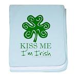 Kiss Me I'm Irish Infant Blanket