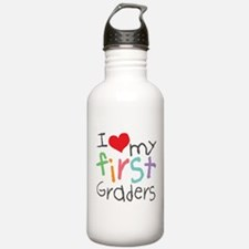 I Love My 1st Graders Water Bottle