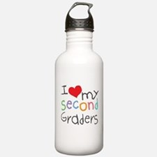 I Love My 2nd Graders Water Bottle