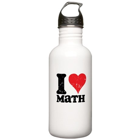I Love Math Stainless Water Bottle 1.0L