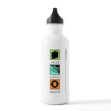 Twilight - read, watch, repea Water Bottle 1. Stai