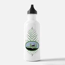 Green Fern Water Bottle