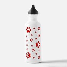 PAW PRINTS Water Bottle