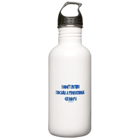 Professional Grandpa Stainless Water Bottle 1.0L