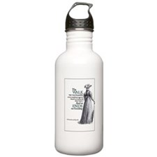 Jane Austen Walk Water Bottle