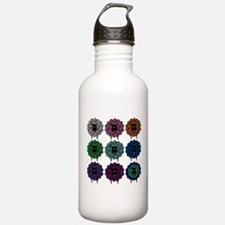 A Rainbow of Sheep Water Bottle