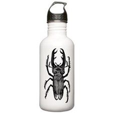 Stag Beetle Water Bottle