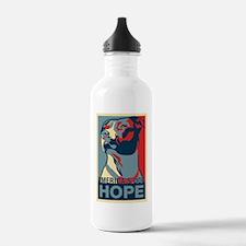Funny Pit bull Water Bottle