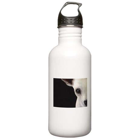 Chihuahua Face Stainless Water Bottle 1.0L