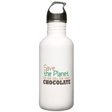 Only Planet with Chocolate Sports Water Bottle
