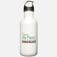 Only Planet with Chocolate Water Bottle