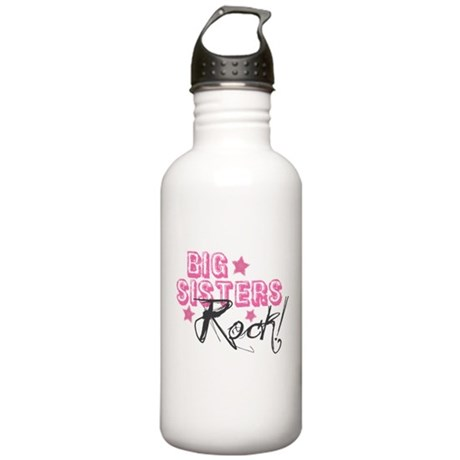 Big Sisters Rock Stainless Water Bottle 1.0L