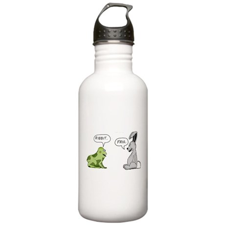 Ribbit and Frig Stainless Water Bottle 1.0L