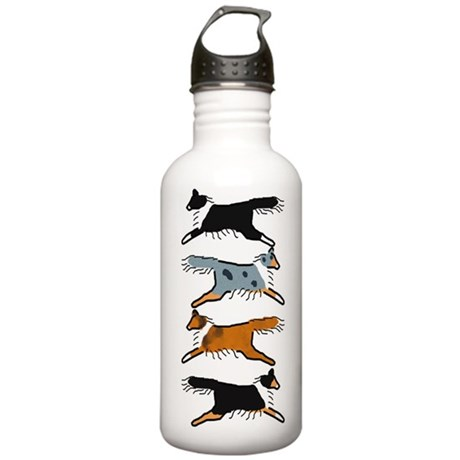 Group O' Shelties Stainless Water Bottle 1.0L