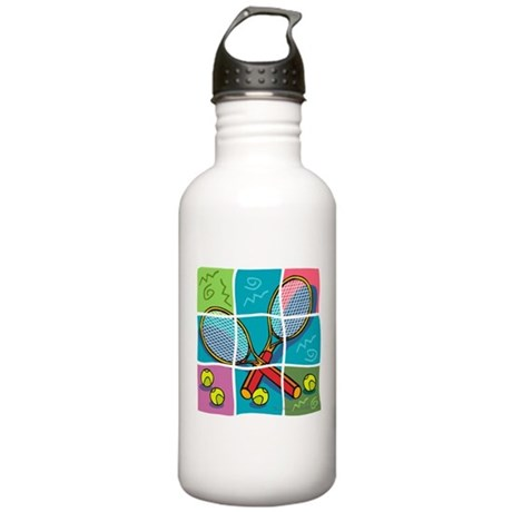 Tennis Fun Stainless Water Bottle 1.0L