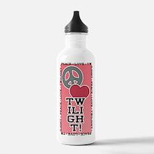 Peace Love Twilight Water Bottle