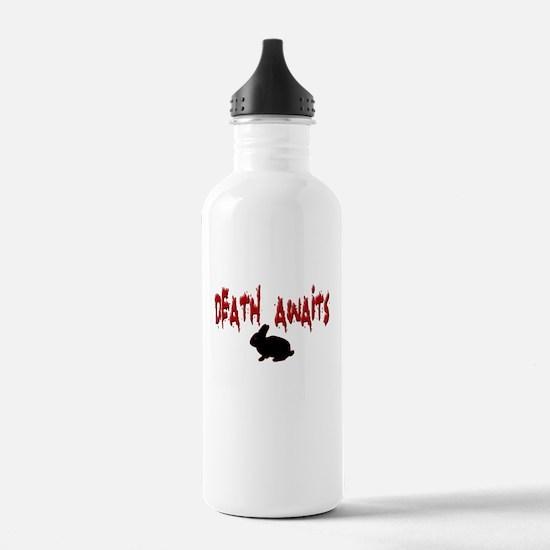 Death Awaits - Rabbit Water Bottle