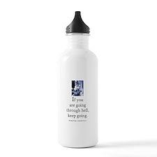 Through hell Water Bottle