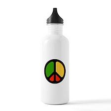 Rasta CND logo Water Bottle