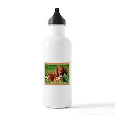Red Long Water Bottle
