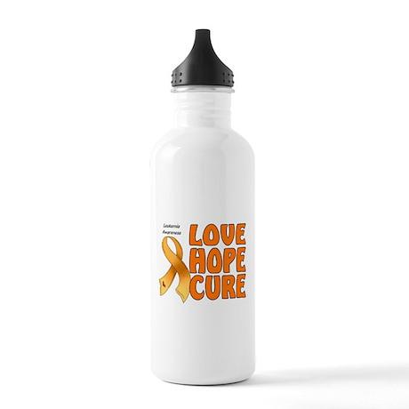 Leukemia Awareness Stainless Water Bottle 1.0L