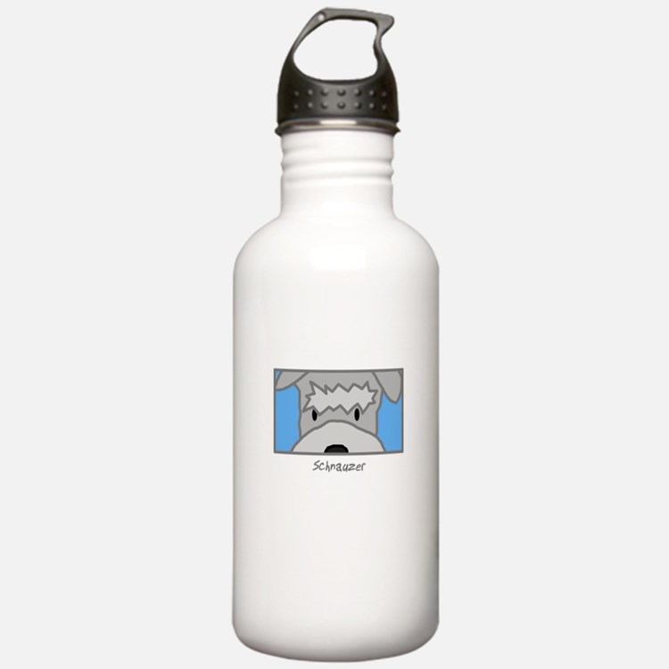 Anime Schnauzer Water Bottle