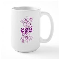 Cute CPA Accountant Mug