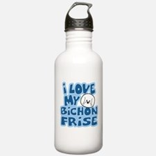 I Love my Bichon Frise Water Bottle