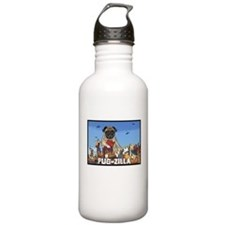 Pug-zilla Water Bottle