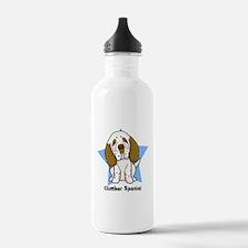 Star Kawaii Clumber Spaniel Water Bottle