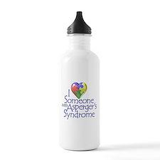 Someone w/Aspreger's Water Bottle