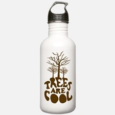 Trees Are Cool Water Bottle