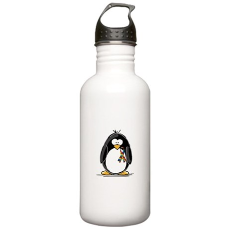 Autism Penguin Stainless Water Bottle 1.0L