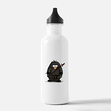 Martial Arts ninja penguin Water Bottle