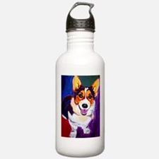 Corgi #1 Sports Water Bottle