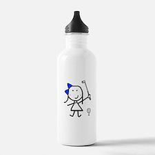 Girl & Golf Water Bottle