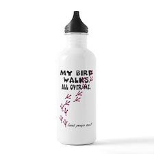 My Bird Walks... Sports Water Bottle