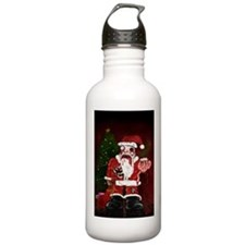 Zombie Santa Water Bottle