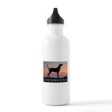 Sunset Coonhound Water Bottle