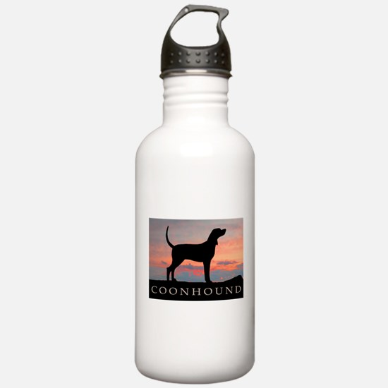 Sunset Coonhound Water Bottle