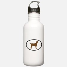 Cute Labrador bumper Water Bottle