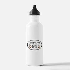 Labrador Dad Oval Water Bottle
