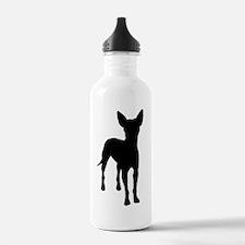 xoloitzcuintli dog Water Bottle