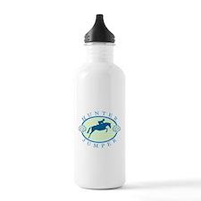 Unique English riding Water Bottle
