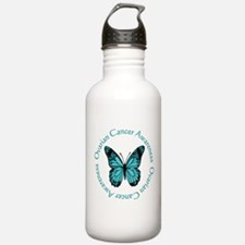Ovarian Cancer Awareness Sports Water Bottle