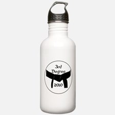 3rd Degree Black Belt Water Bottle