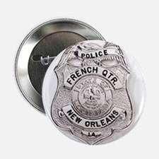 French Quarter Police Button